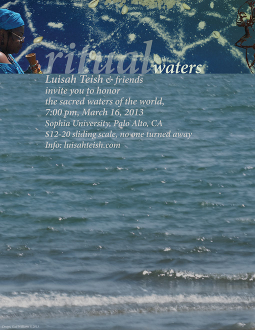 poster for 2013 waters ritual